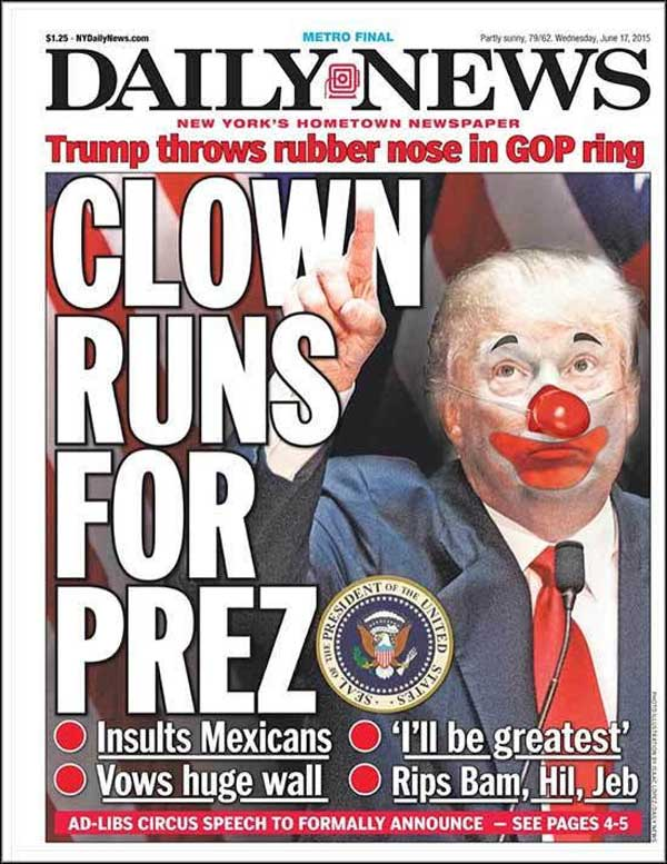 Nothing but lies and insults. Yup! That's our new POTUS…